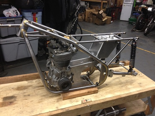 Motorcycle Frame Modifications by Coffee Racers