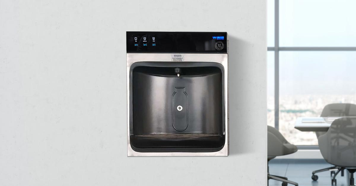 Outdoor Inwall Bottle Filling Stations with chiller