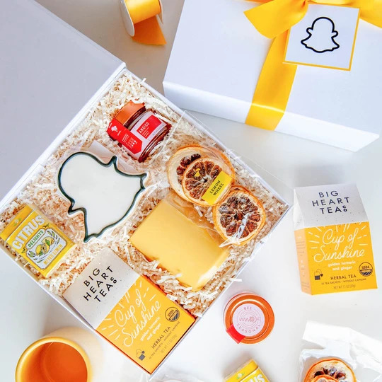 Sending a Box of Sunshine, Thinking of You Gift Box, Get Well Care Package