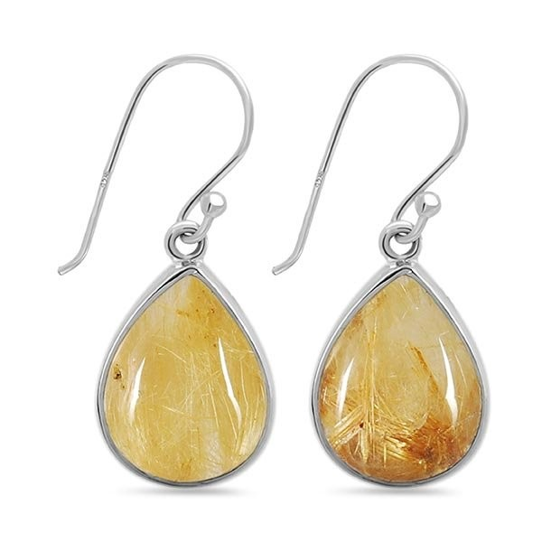 Shop Golden Rutile Jewelry at Wholesale Prices From Rananjay Exports