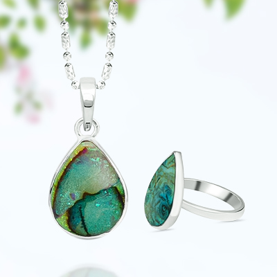Wholesale beautiful sterling opal jewelry by rananjay exports