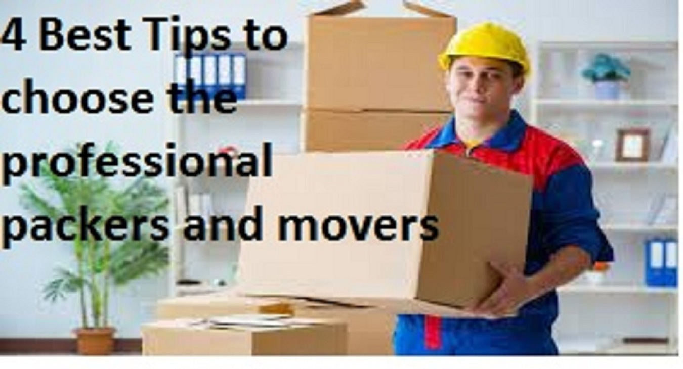 4 Best Tips to choose the professional packers and movers in chennai