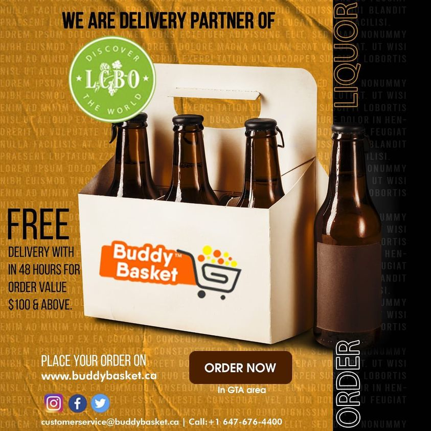 Beer delivery service available in Buddybasket