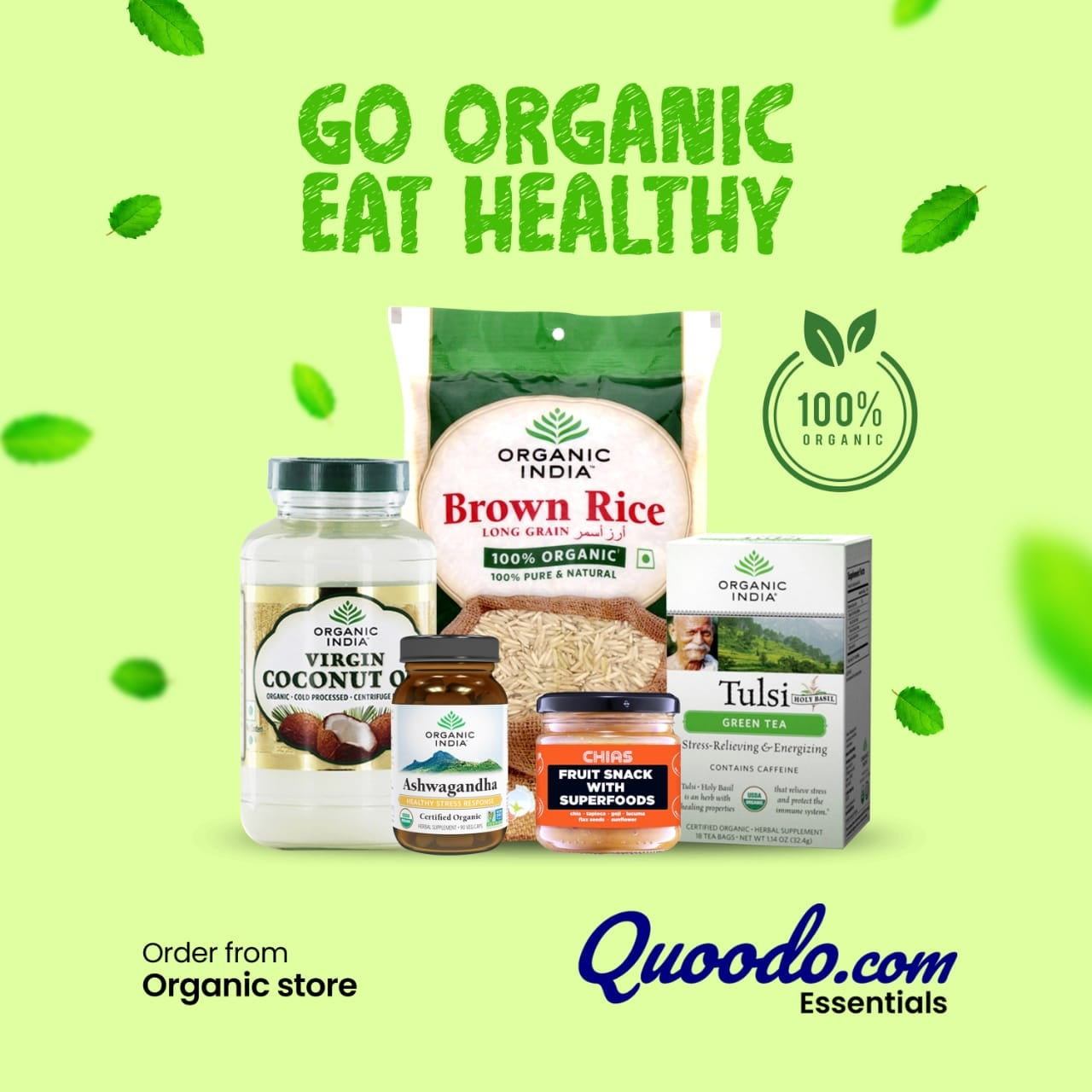 Buy Organic Products Online at Best Prices from Quoodo