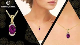 Buy Ruby Pendant Online from Chordia Jewels