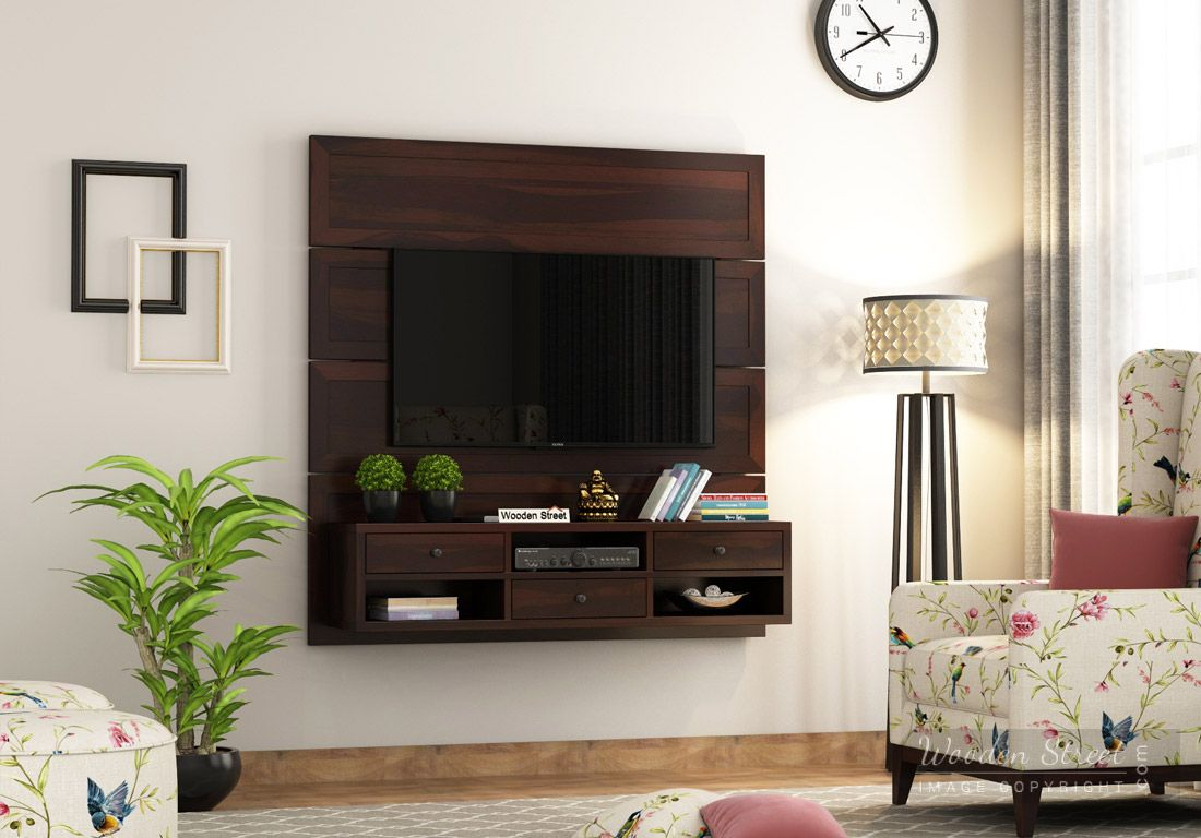 Get beautiful pattern of tv stand online at Wooden Street