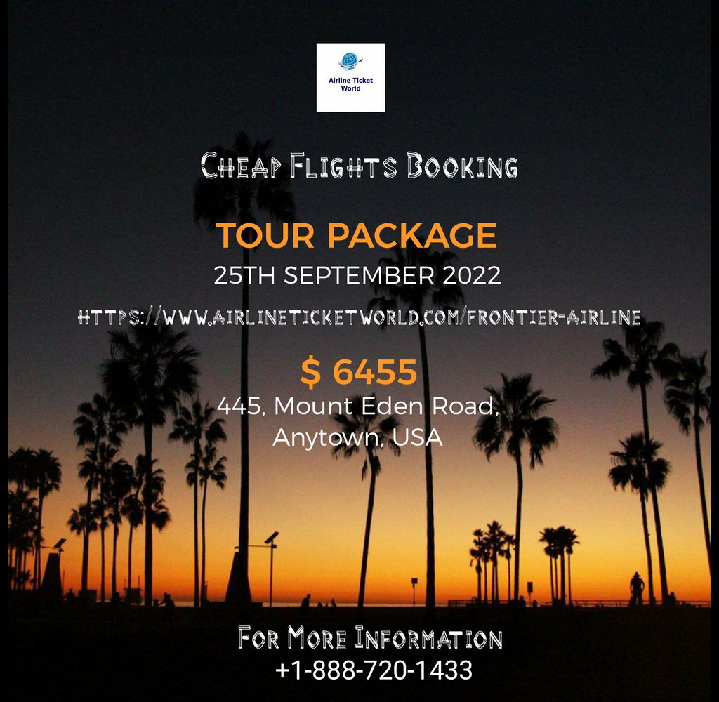 Get best travel Experience by Frontier Airlines