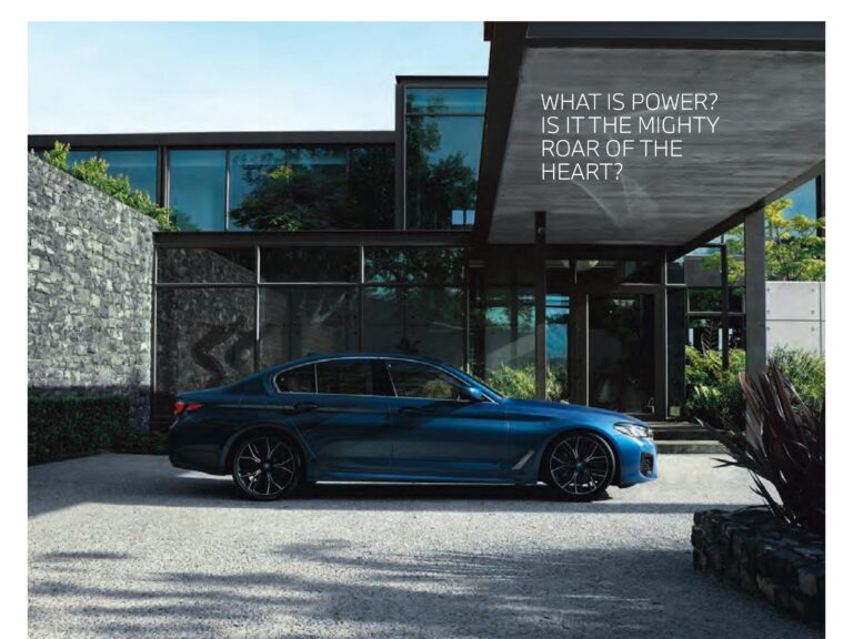 Know the Everything about Allnew BMW 5 series 2021