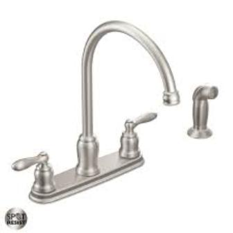 Moen Kitchen Faucets: Stylish Appearance with Manufacturer Warranty