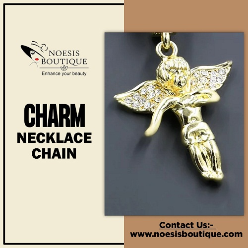 Order Charm Necklace Chain Online