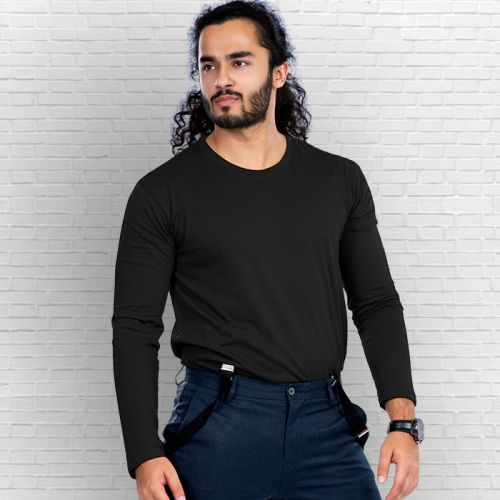 Premium Quality of Long Sleeve T Shirts for Mens Online at Beyoung