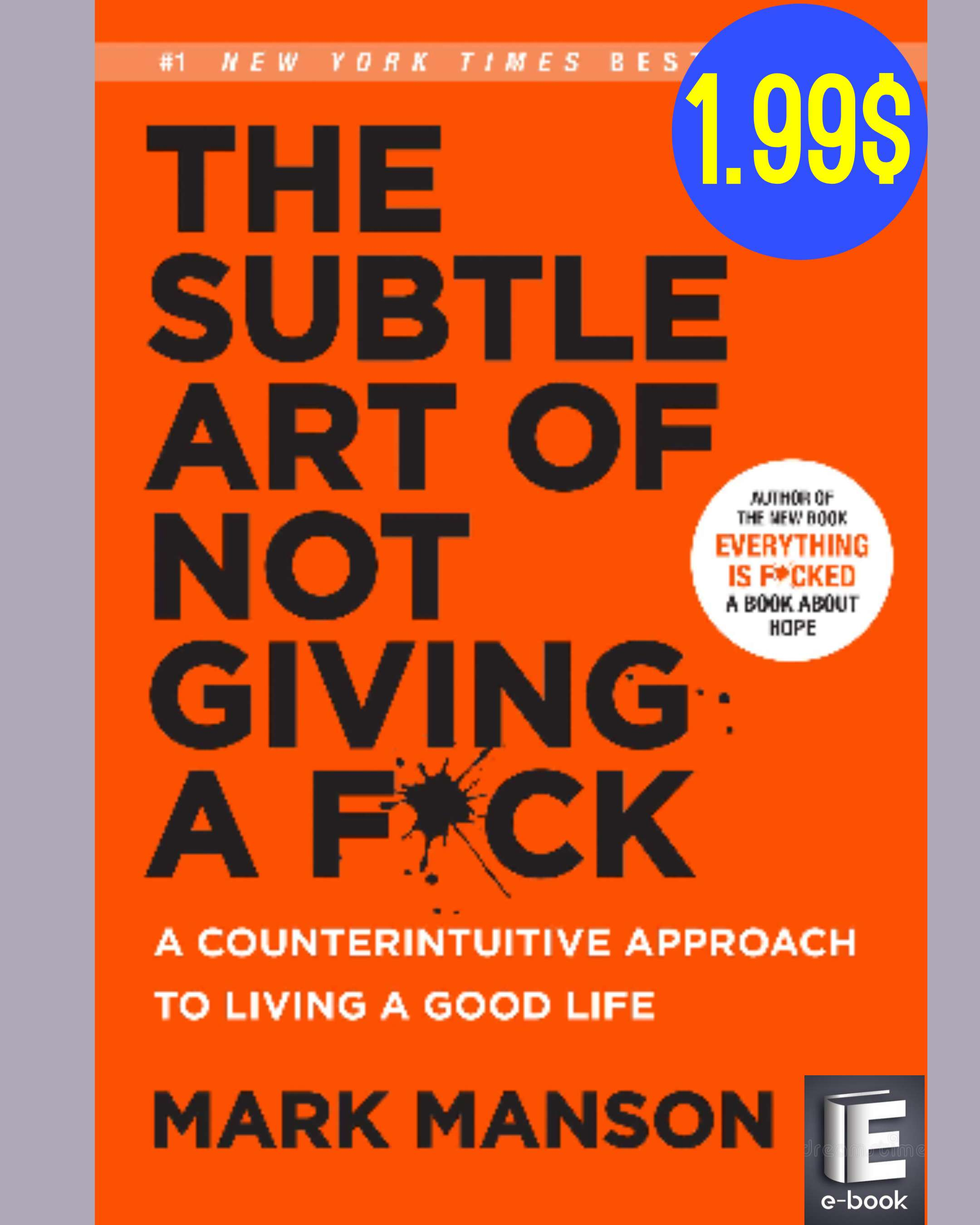 The subtle art of not giving a fck Ebook and many Other books started from ...