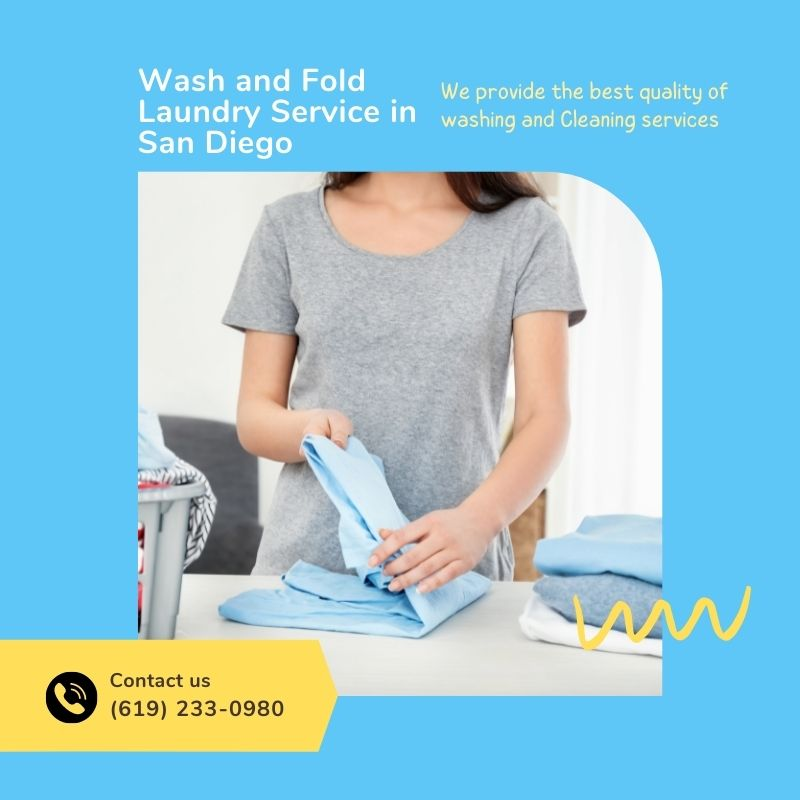 Wash and Fold Laundry Service in San Diego Lndry