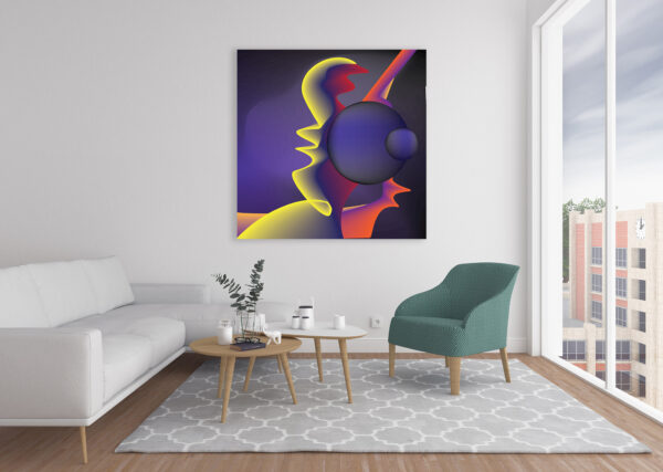 Abstract Canvas Art in Dubai, UAE eProject Gallery