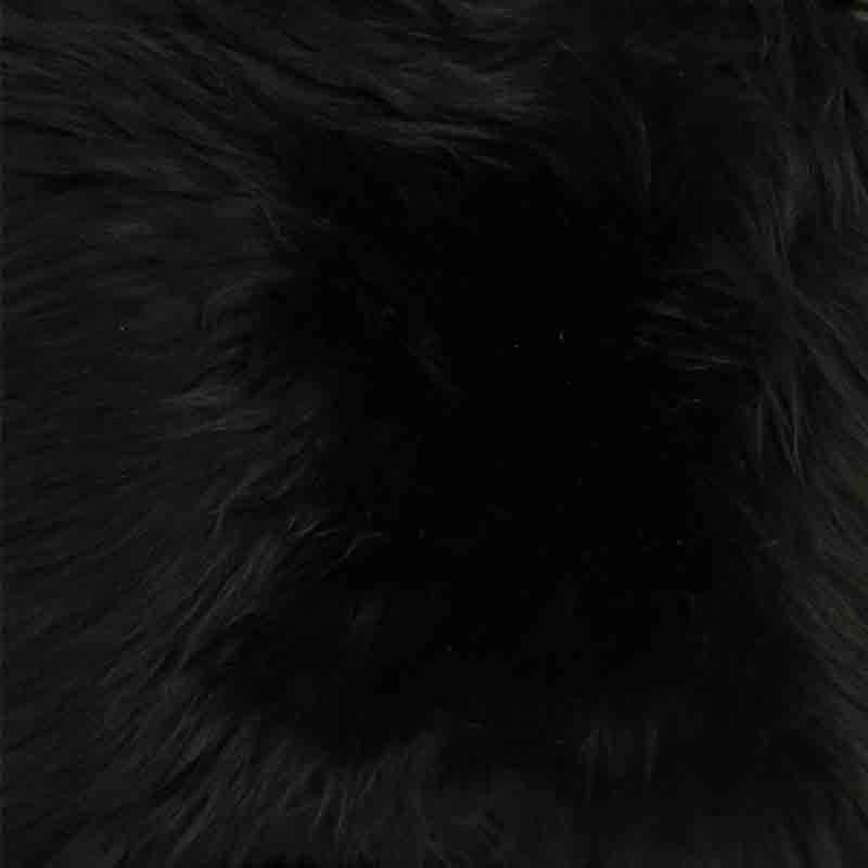 Buy 100 Genuine Black Double Sheepskin Rug From Pixieland at Best Prices