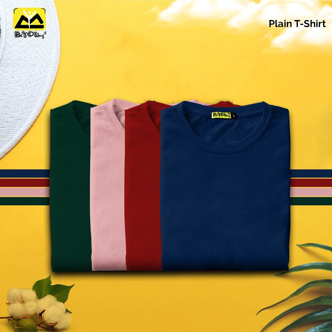 Buy Plain T Shirts Online in India at Beyoung