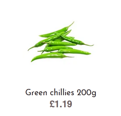 Buy Quality Green Chillies online at Affordable Prices