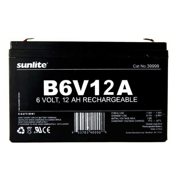 Buy Sunlite Rechargeable Battery from Direct Lighting Solutions