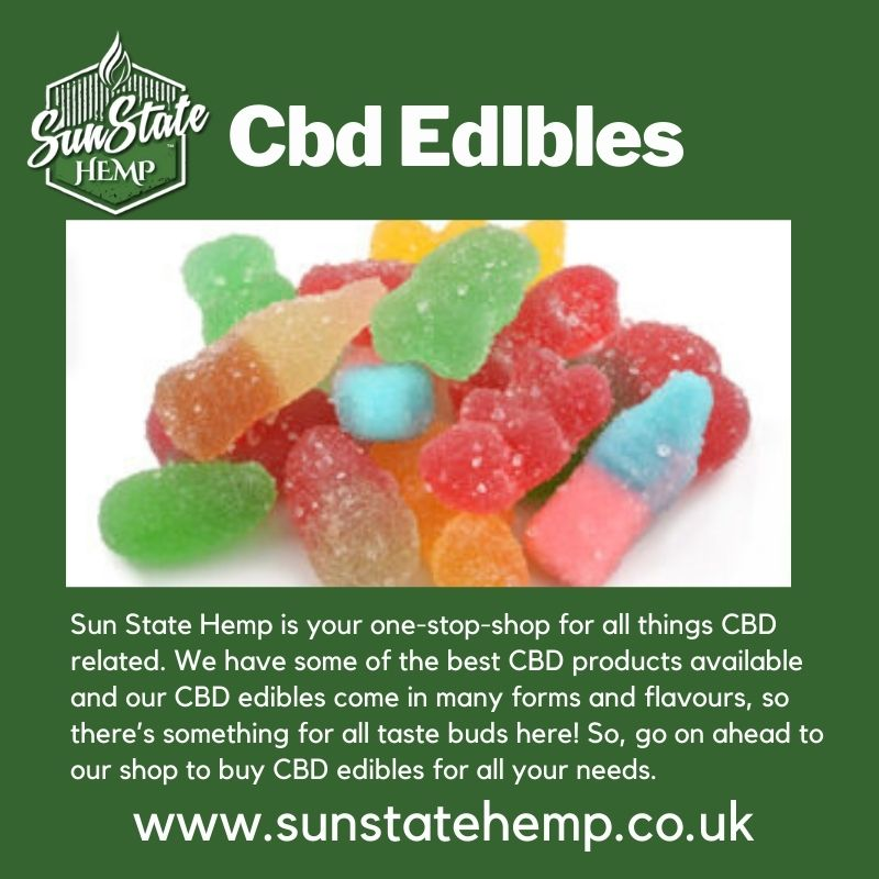 CBD Edibles UK: Everything You Need To Know About CBD Edibles