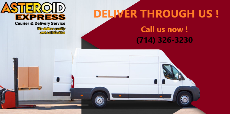 Courier Service In Pasadena Same Day Delivery Asteroid Xpress