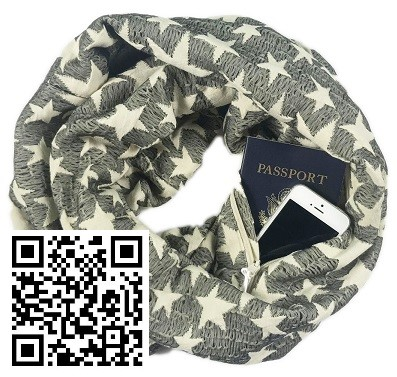 Infinity Scarf Surprise! Great Gift Idea!