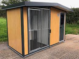 Keep Your Dogs Safe With Our Insulated Dog Kennels