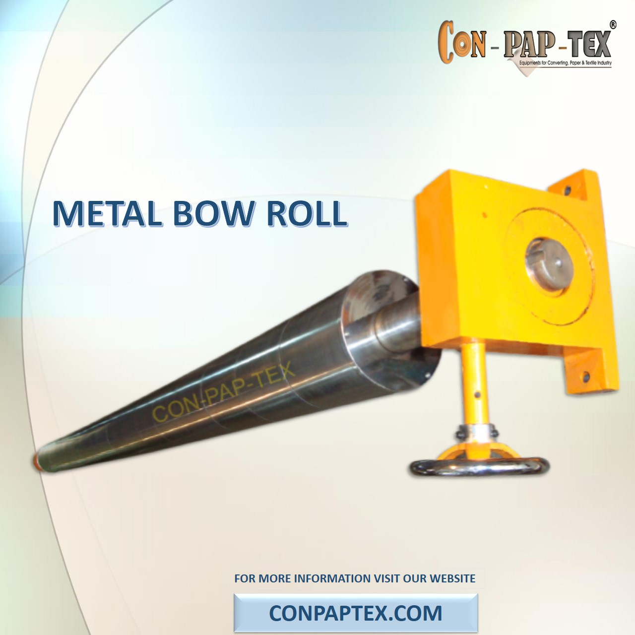 Manufacturer of Metal Bow Roll, Metal Banana Roller, Bow Roll Exporter