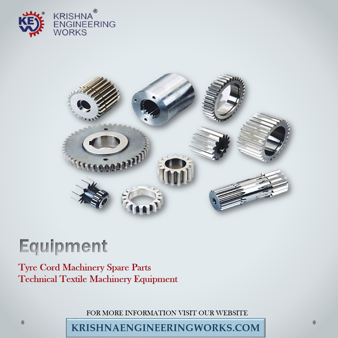 Manufacturer of Tyre Cord Machinery Spare Parts