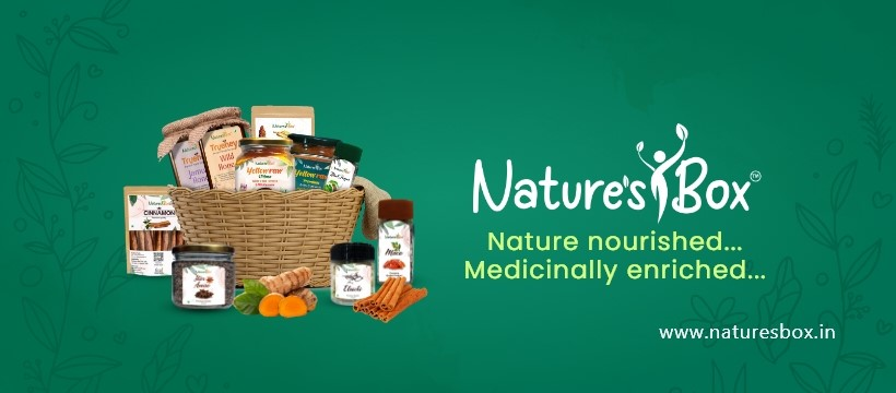 Organic Food Products Pure Honey and Turmeric Powder Natures Box