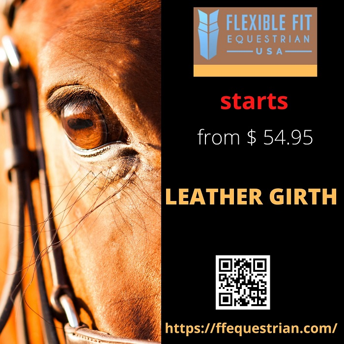 Perfect Sale on Leather Girth start in clinfton