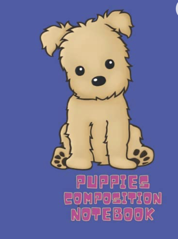 Puppies Composition NotebookJournal for Kids