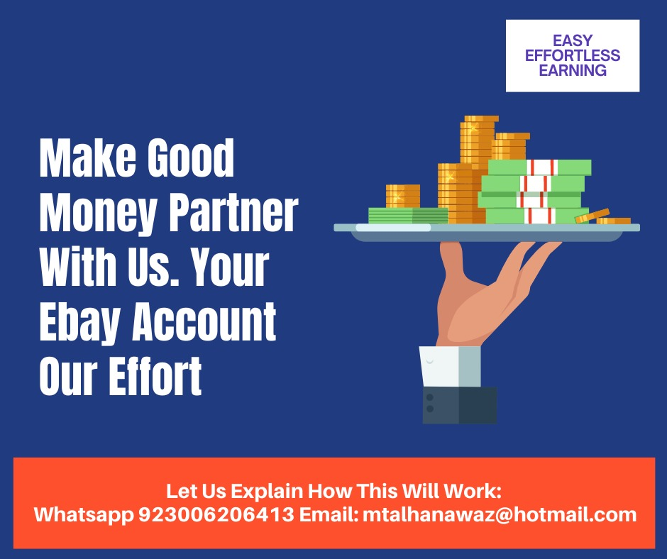 Start Your eBay Earning with Our Partnership