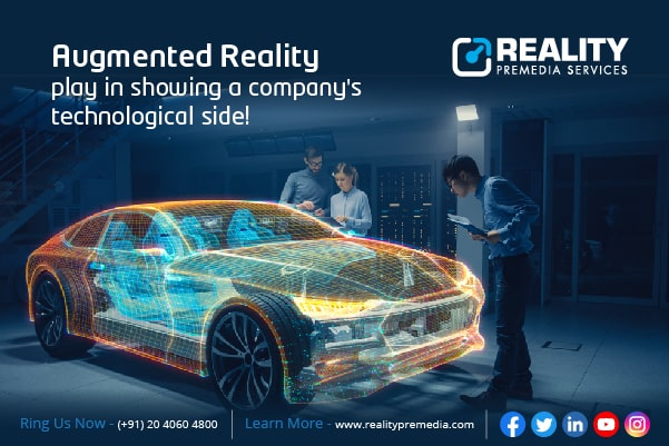 What role does Augmented Reality play in showing a companys technological s...