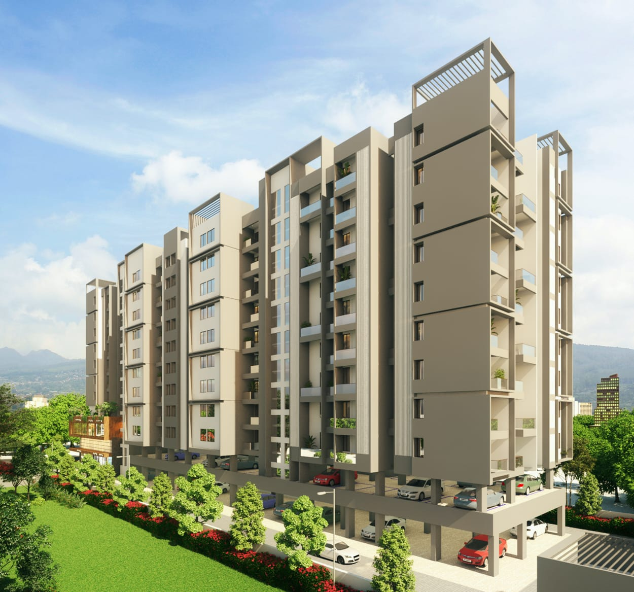 1 bhk flats for sale in tathawade
