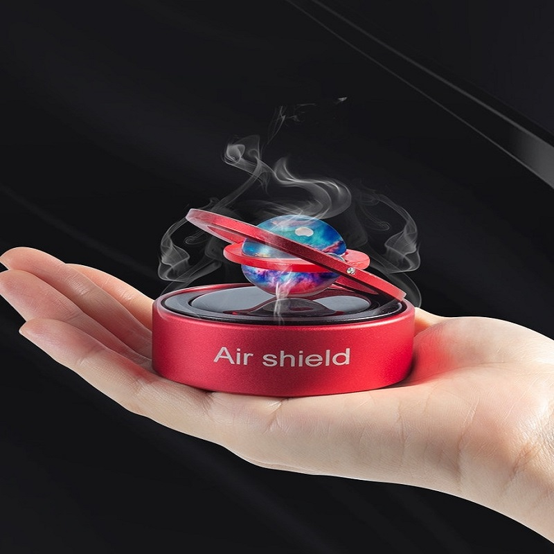 A solarpowered aroma diffuser for your car!