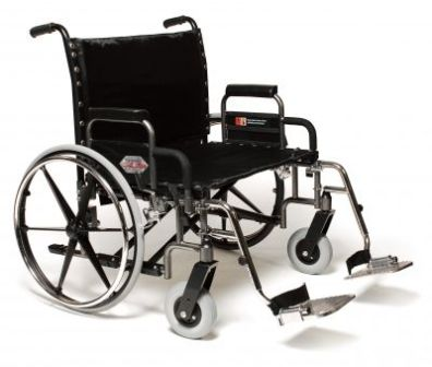 Bariatric Manual Wheelchairs To Give You The Desired Space You Need