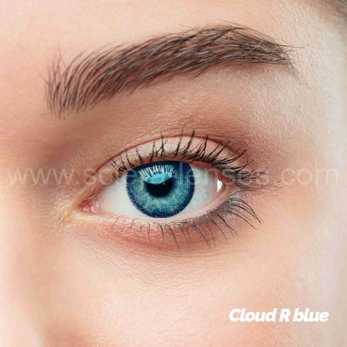 Blue Colored Contacts