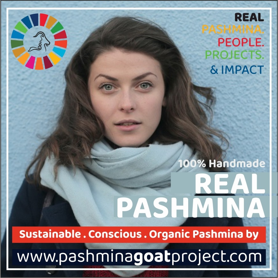 Buy Kashmiri Embroidery Shawl Online from Pashmina Goat Project