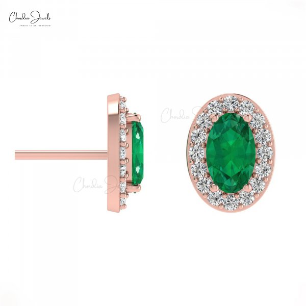 Buy Latest Emerald Earrings Online Designs Handcrafted by Experts at chordi...