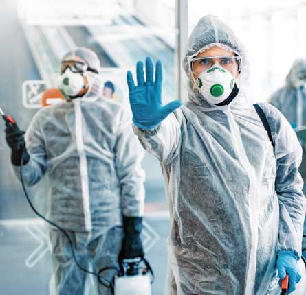 Expert COVID deep cleaning and Daily Commercial disinfection in Melbourne