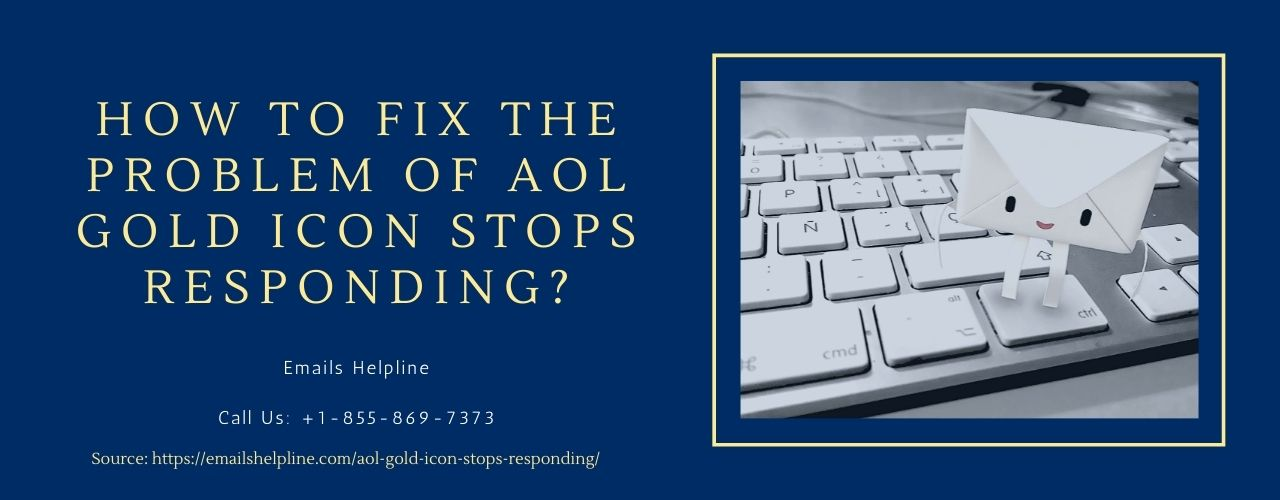 How to fix the problem of AOL Gold Icon Stops Responding?
