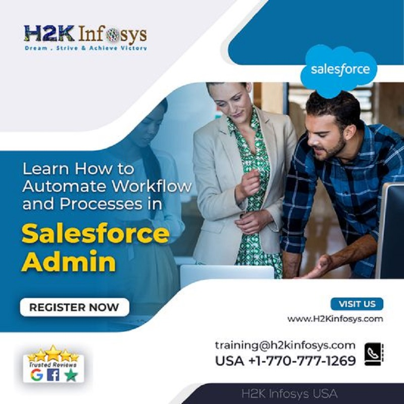 Learn How to Automate Workflow and Progresses in Salesforce Admin