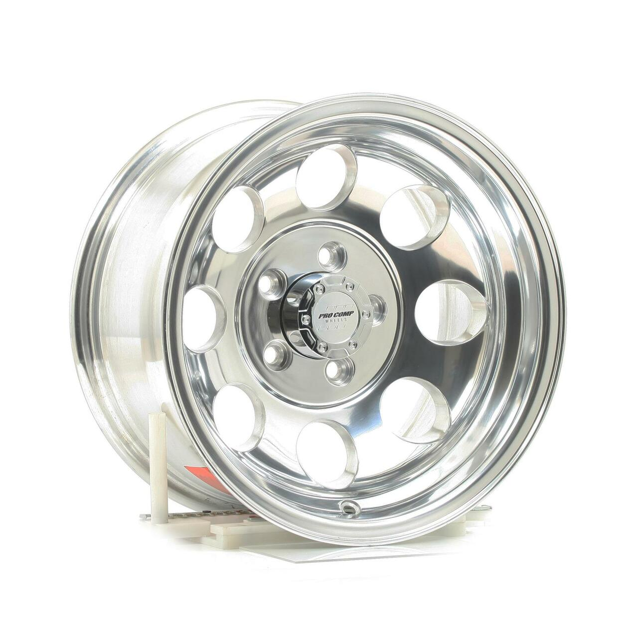 National Tire Wheels 15x10 5x5.5 3.625BS Type 1069 Polished Pro Comp Whee...