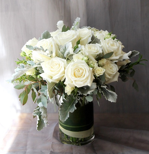 Round Spray Flowers for Funerals or memorials