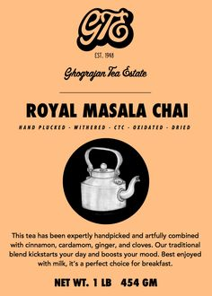 Shop here online royal masala Tea in the USA with Ghograjan Teas