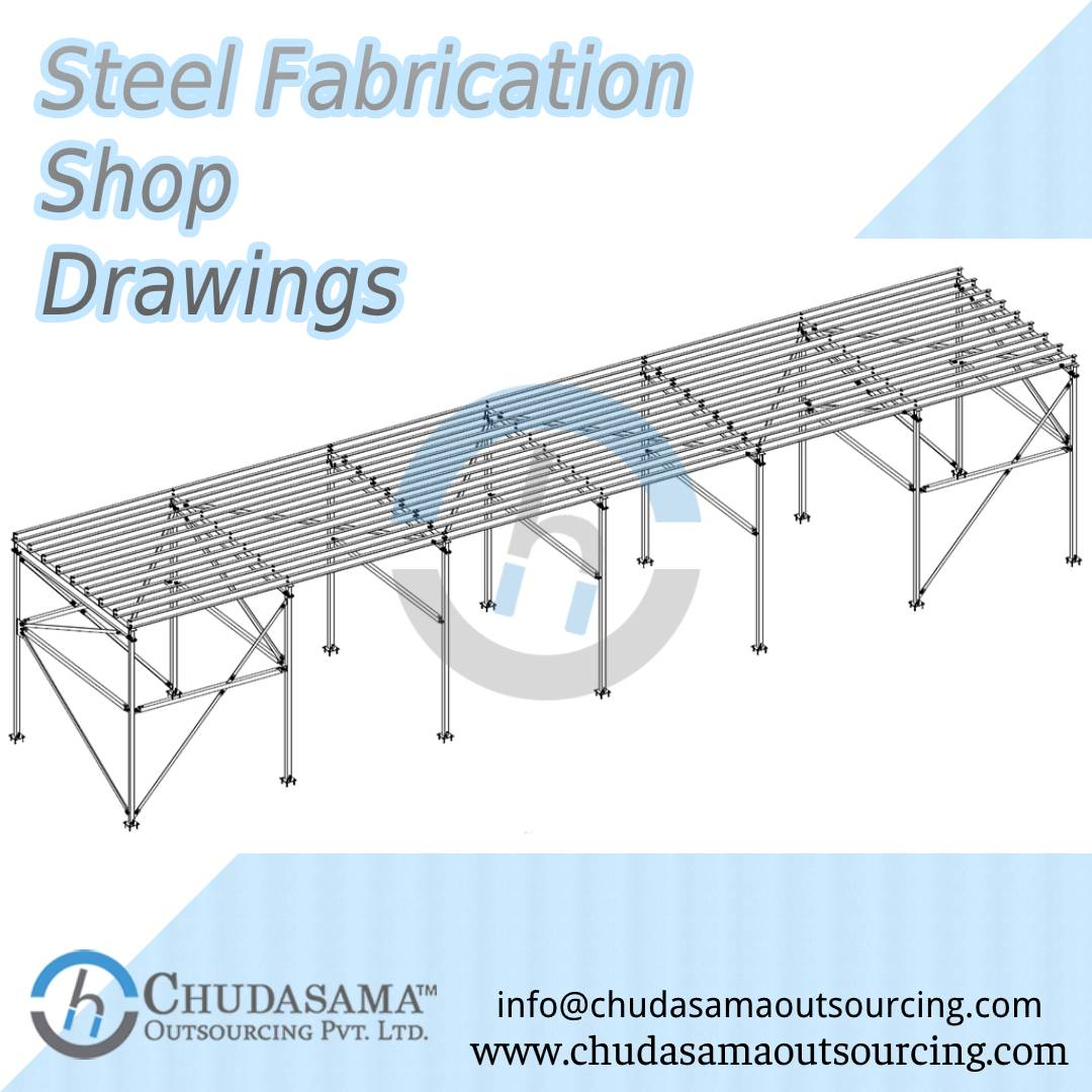 Steel Fabrication Shop Drawings Services