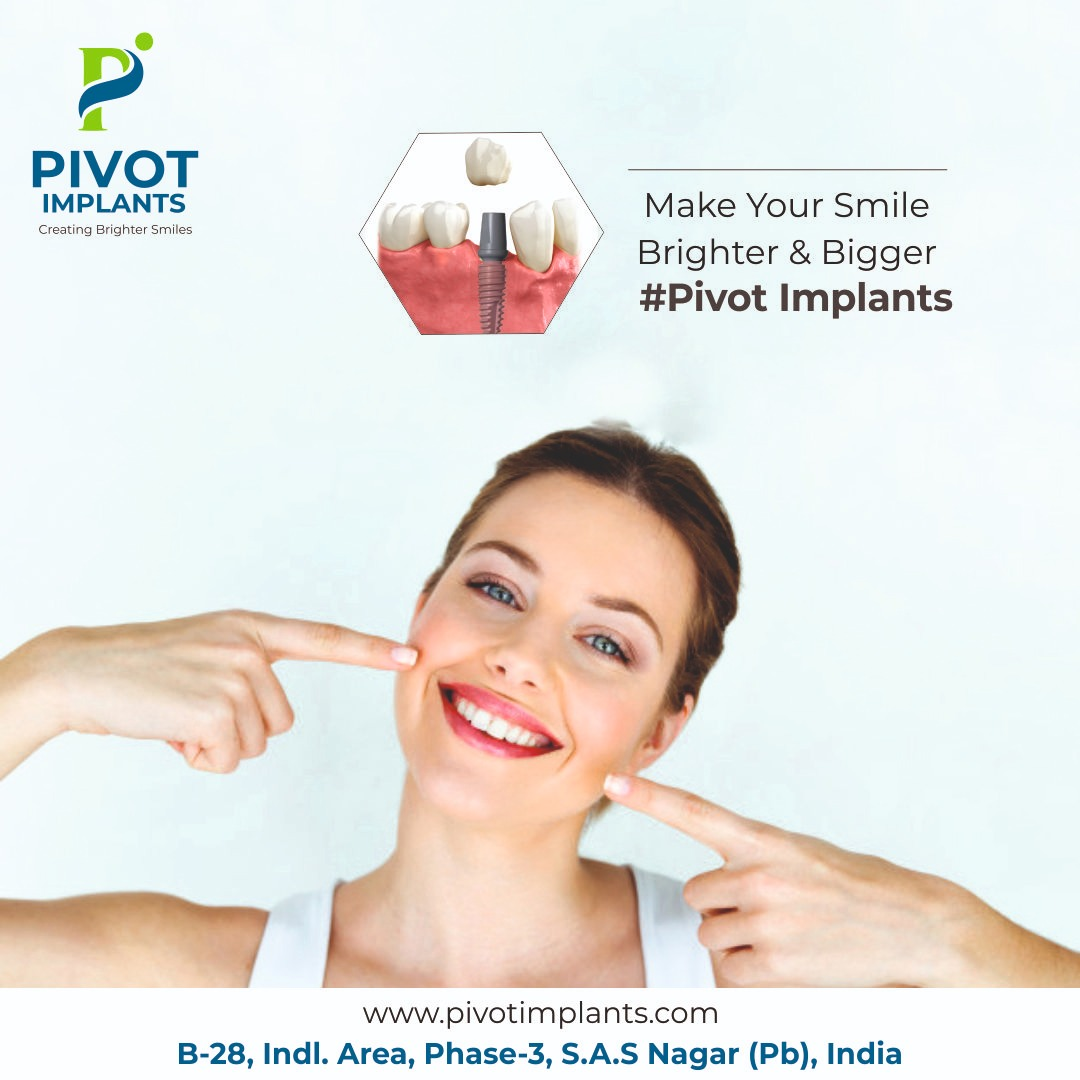 Best tooth implants company in India