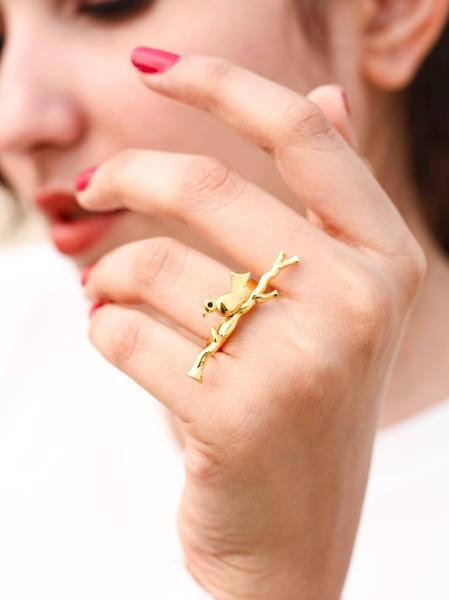 Buy Zilverines Perched Brass Jewellery Collection