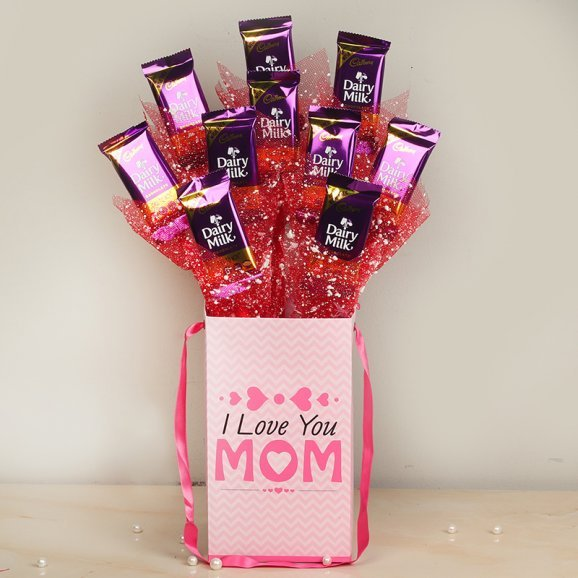 Chocolate Bouquet The best place to buy is FlowerAura