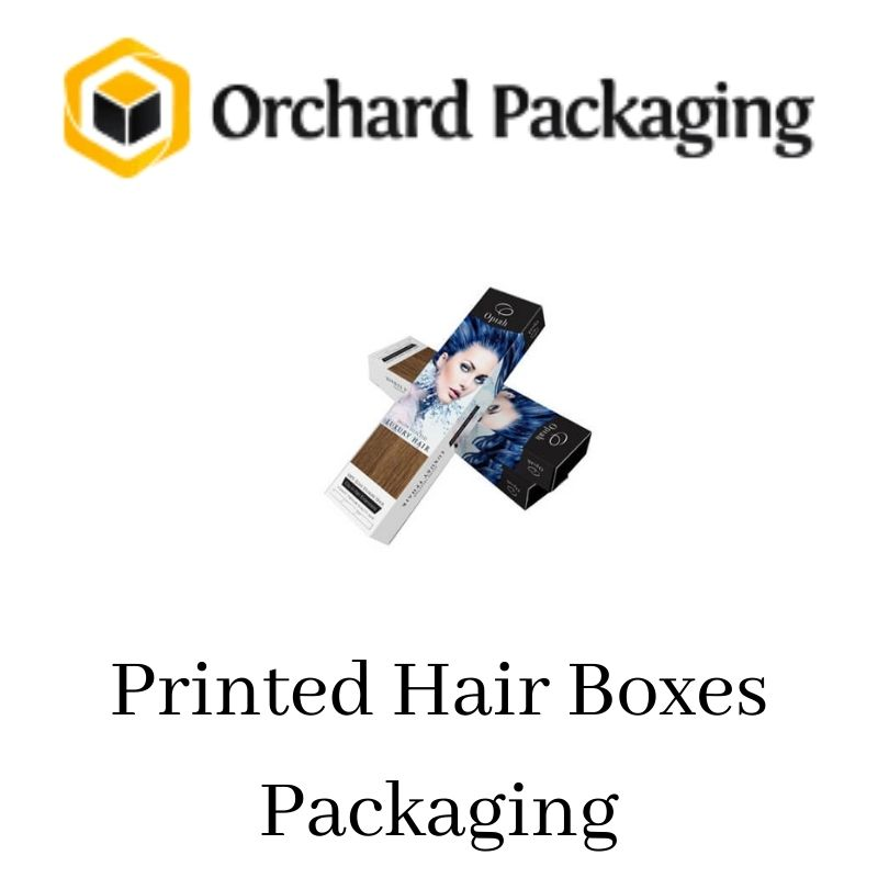 Custom Printed Hair Extension Packaging Boxes at Discount Rates